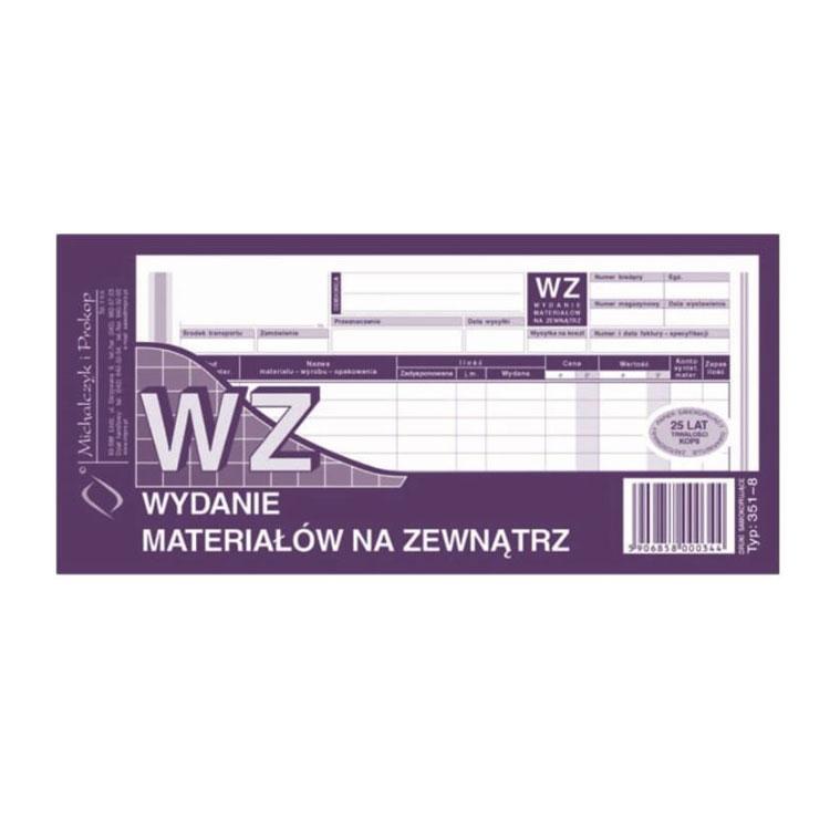 WZ-wydanie